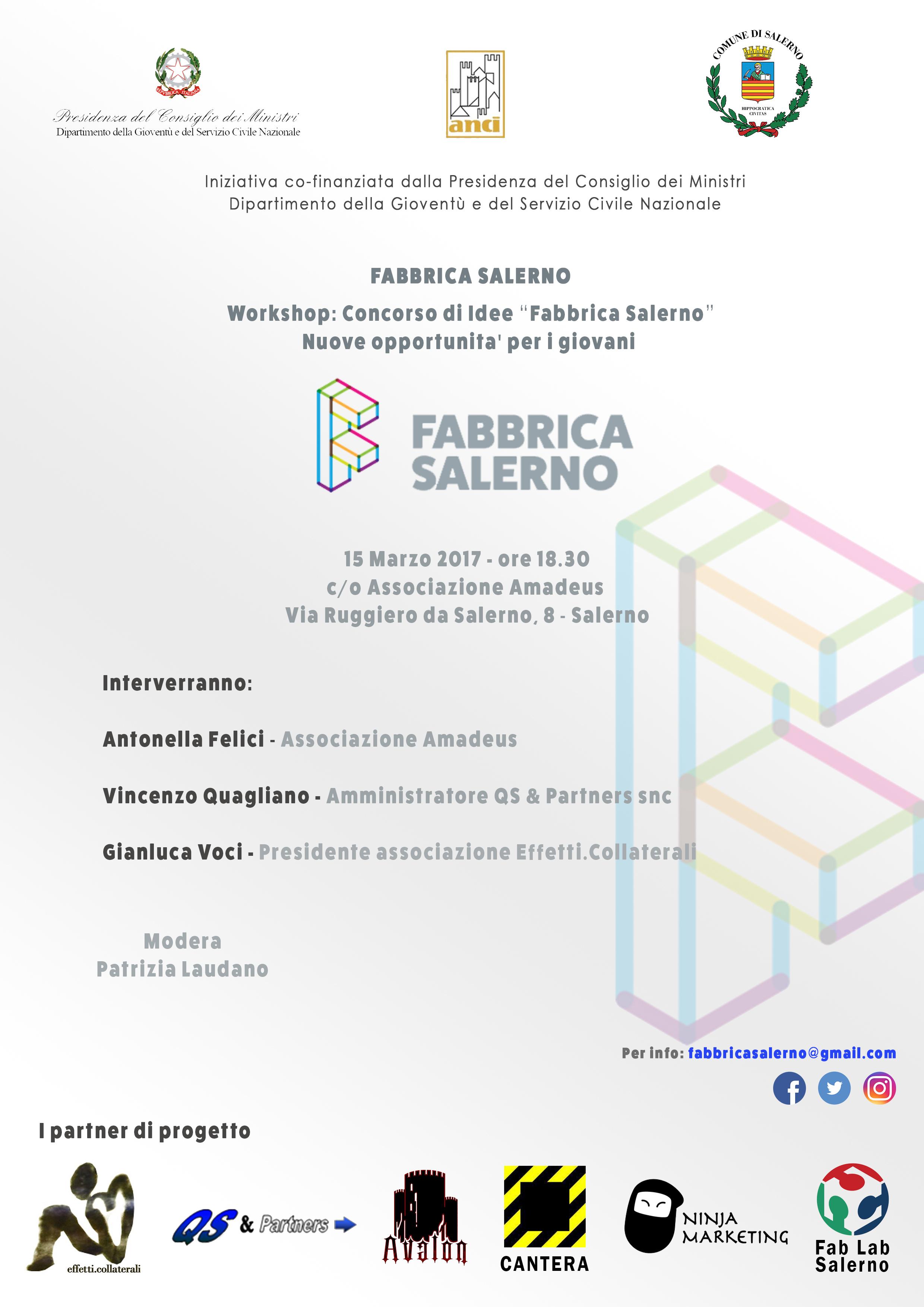 Locandina Workshop 15 marzo